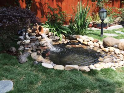 別墅庭院如何建造池塘