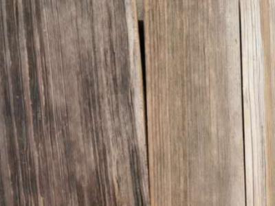 風化木的做法與工藝技術