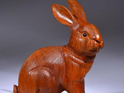 木雕兔子風水擺放講究