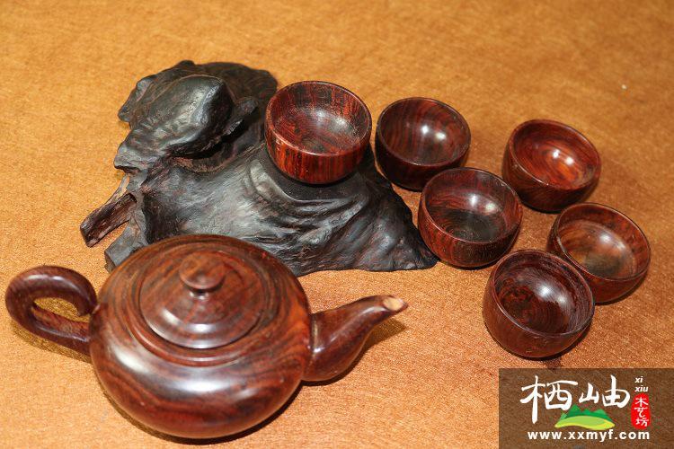 大紅酸枝茶壺