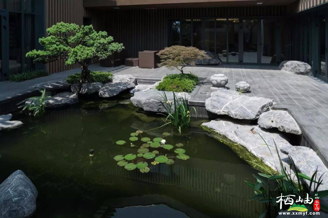 庭院魚塘水池