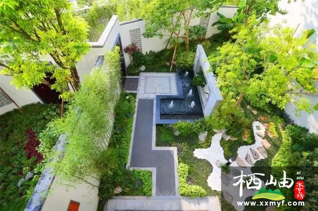 中式庭院花園設計