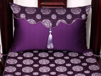 古典家具抱枕椅墊如何選擇,靠墊和坐墊有什么區別?