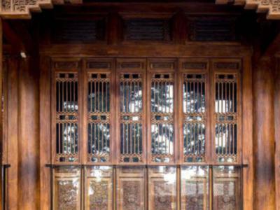 中國國粹木雕庭院設計