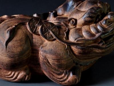 木雕藝術品源于古代