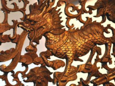 擺放木雕麒麟的意義
