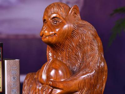 木雕猴子在家中的擺放講究