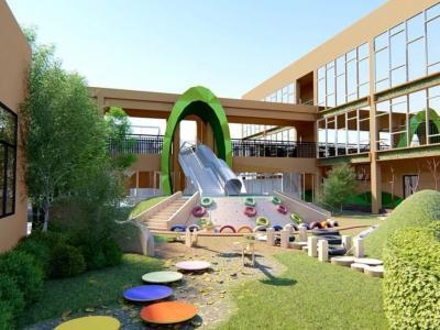 幼兒園戶外活動區景觀設計