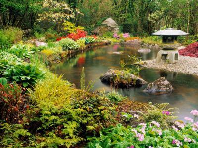 別墅庭院之中式庭院景觀設計的特點