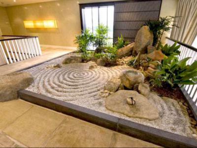 日式庭院設計方案以恬靜禪味為主體