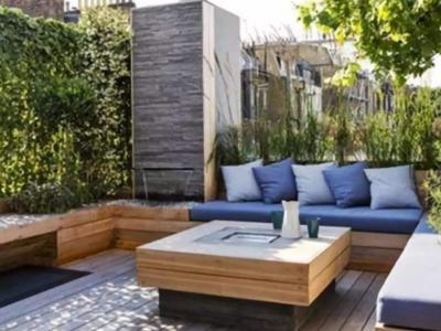 別墅庭院設計方案地面硬化作法