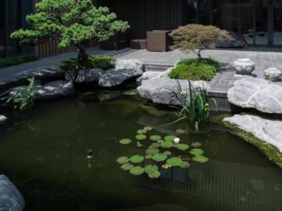 別墅庭院景觀設計水池方向講究