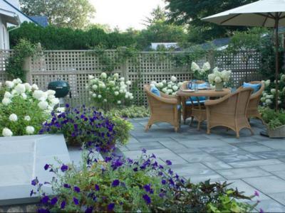 別墅庭院設計之露臺花園的由來