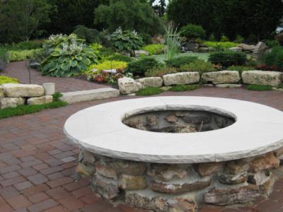 別墅花園設計地面硬化做法