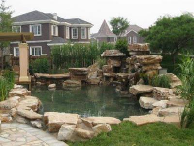 庭院假山景觀設計概念及技巧