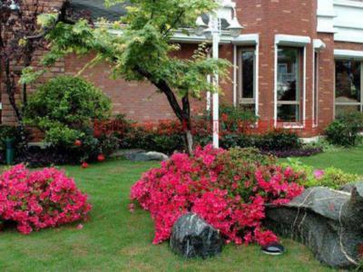 別墅庭院設計構思里的多種圍欄設計