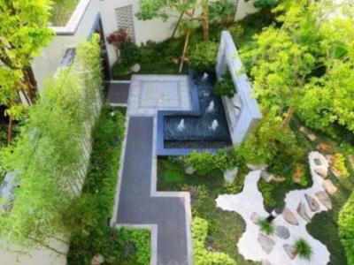 小區別墅景觀設計要點
