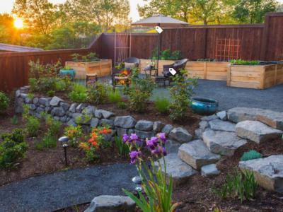 農村私家庭院設計需要四個要點