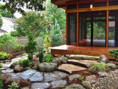 私家庭院景觀細節設計方案