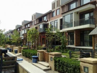 聯排別墅庭院景觀設計的布局方式