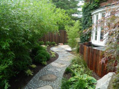 私家別墅庭院景觀入口層次是重點