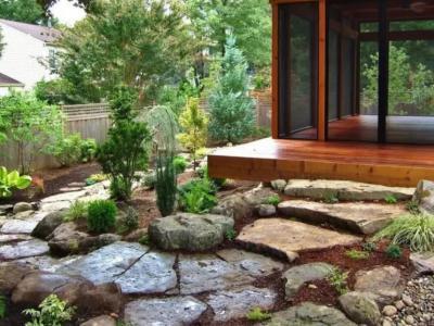 庭院庭石挑選和布置大有講究
