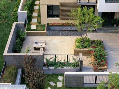 你會如何設計自己的別墅庭院