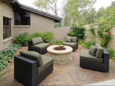 別墅庭院常用的三種沙發座椅