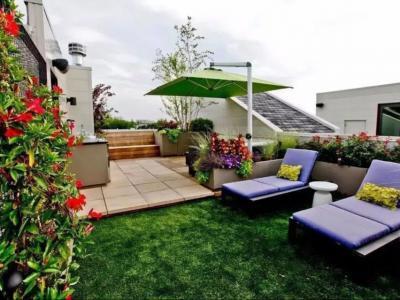 三種常見的屋頂花園設計形式
