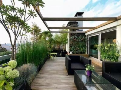 露臺花園設計的10大技巧